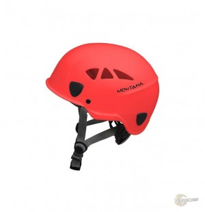 Capacete Ares Montana Vermelho ABS Classe A Tipo lll CA 32260